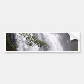 Beautiful  waterfall bumper sticker