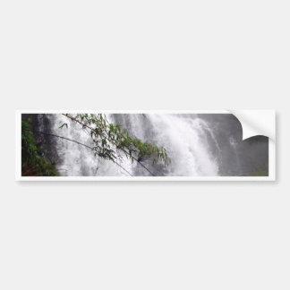 Beautiful waterfall bumper stickers