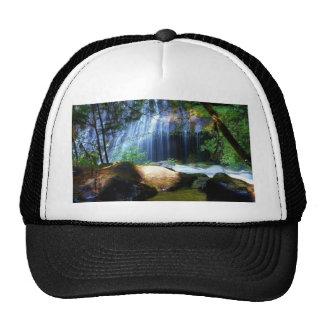 Beautiful Waterfall Jungle Landscape Cap