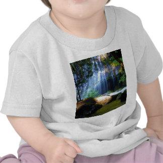 Beautiful Waterfall Jungle Landscape T-shirt