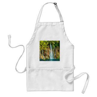 Beautiful waterfall nature water design standard apron