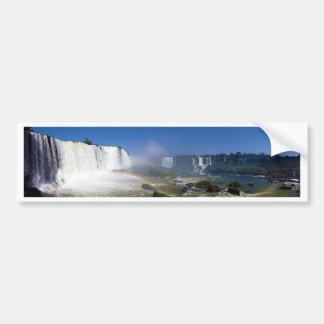 Beautiful waterfalls in Brazil - Iguazu Falls Bumper Stickers