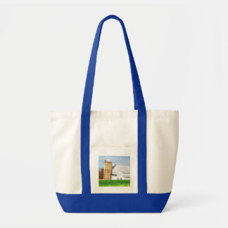 Beautiful White Barn Tote Bag