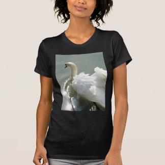 Beautiful white swan T-Shirt