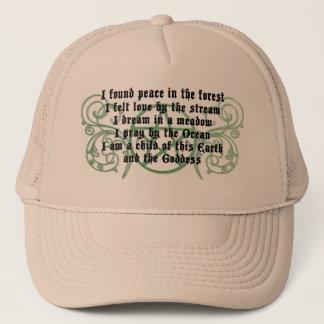 Beautiful Wiccan Poem Trucker Hat
