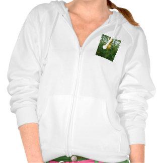 Beautiful Women's Fleece Raglan Zip Hoodie