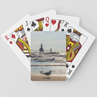 Beauty And Force Playing Cards