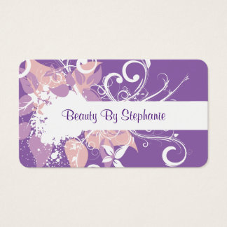 Beauty Hairdresser Business Card