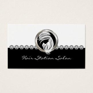 Beauty Hairdresser Salon Business Card