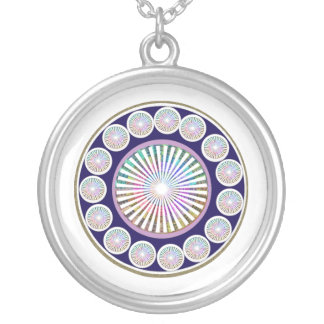 Beauty Mantra - ART101 Chakra Collection Silver Plated Necklace