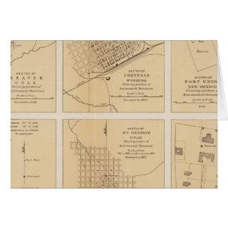 Beaver, Cheyenne, Fort Union, Georgetown Card