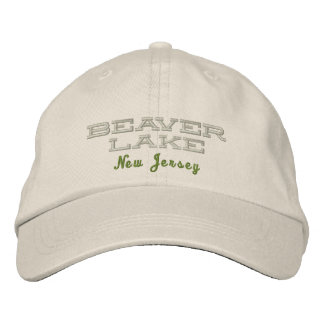 Beaver Lake Cap Embroidered Hat