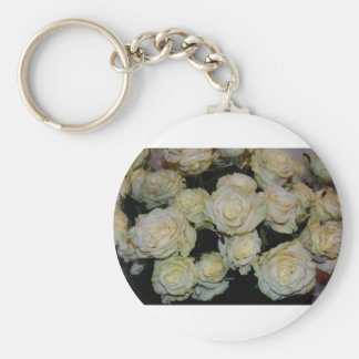 Bed of Roses Key Ring