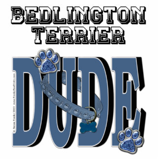 Bedlington Terrier DUDE Photo Cut Outs