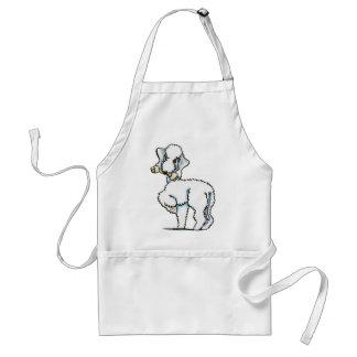 Bedlington Terrier Rosie Standard Apron