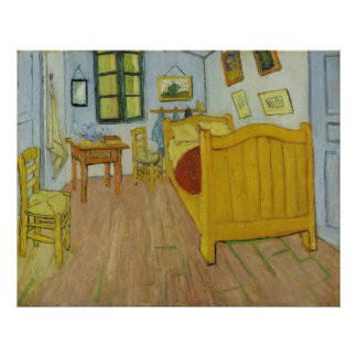 Bedroom in Arles by Vincent Van Gogh Art Photo
