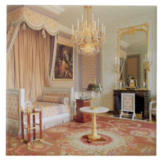 Bedroom in the Grand Trianon (photo) Tile