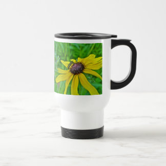 Bee and Black Eyed Susan Travel Mug