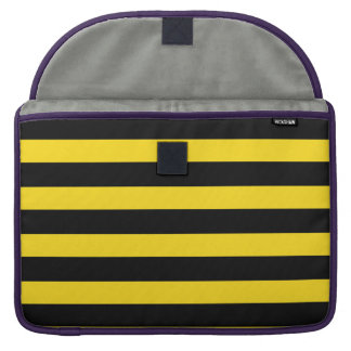 """Bee Stripes Pattern For Mac Book Pro 15"""" Sleeve Sleeve For MacBooks"""