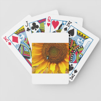 Bee Sunny Bicycle Playing Cards