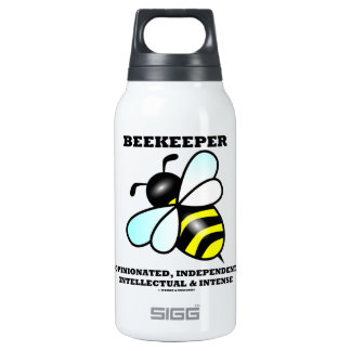 Beekeeper Opinionated Independent Intellectual 10 Oz Insulated SIGG Thermos Water Bottle