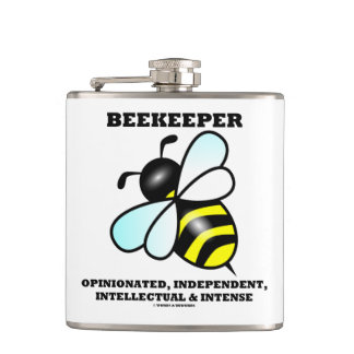 Beekeeper Opinionated Independent Intellectual Flask