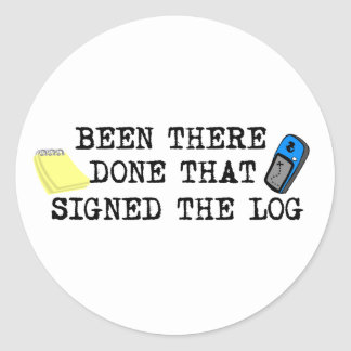 Been There... Round Sticker