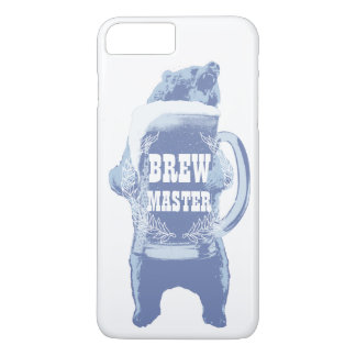 Beer Bear Home Brewing Brewmaster iPhone 8 Plus/7 Plus Case