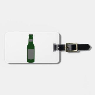 Beer Bottle Luggage Tag