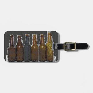 Beer Bottles Luggage Tag