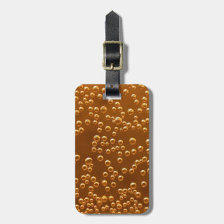 Beer Bubbles Luggage Tag