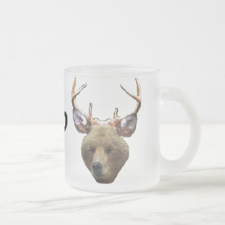 Beer? Frosted Glass Coffee Mug