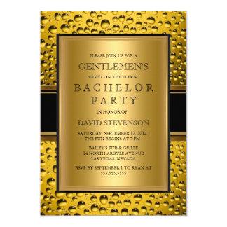 Beer Gentlemen's Bachelor Party Men's Night Out Card