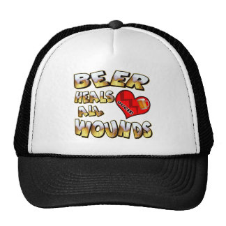 Beer Heals All Wounds T-shirts Gifts Cap
