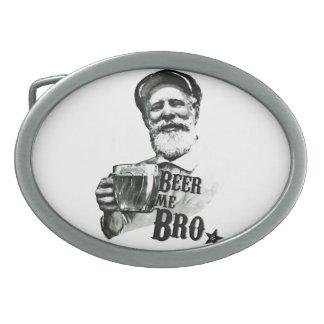 Beer me Bro. Belt Buckle