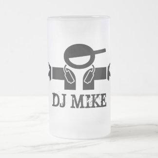 Beer mug for Deejays | Customisable DJ name