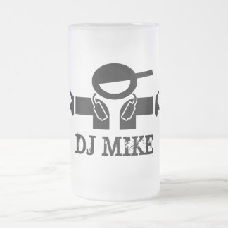 Beer mug for Deejays | Customizable DJ name