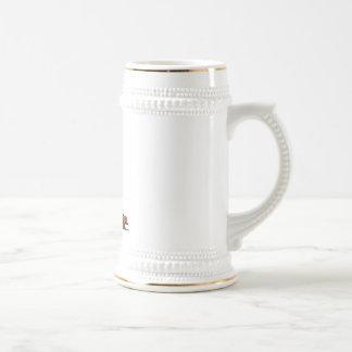 Beer Mug Happy Lederhosen Man Dachshund
