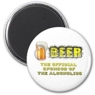 Beer Sponsored Magnet