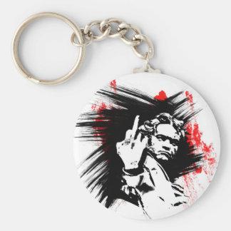 Beethoven FU Basic Round Button Key Ring