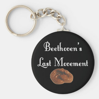 Beethoven Last Movement Basic Round Button Key Ring