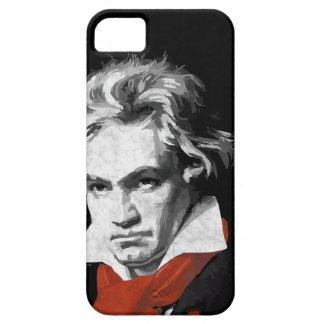 Beethoven virtuous piano black iPhone 5 cases