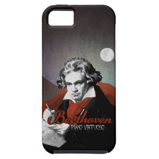 Beethoven virtuous piano black iPhone 5 cover