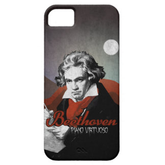 Beethoven virtuous piano black iPhone 5 covers