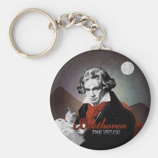 Beethoven virtuous piano black key ring