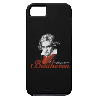 Beethoven virtuous piano black tough iPhone 5 case