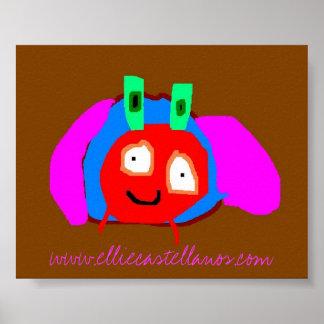 beetle, www.elliecastellanos.com poster