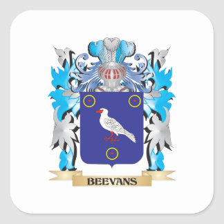 Beevans Coat of Arms Stickers