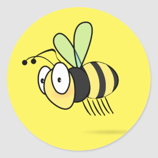 Beezy The Bee Stickers