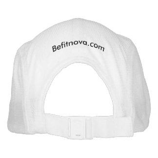 BeFitNoVa Knit Performance Hat, White Hat